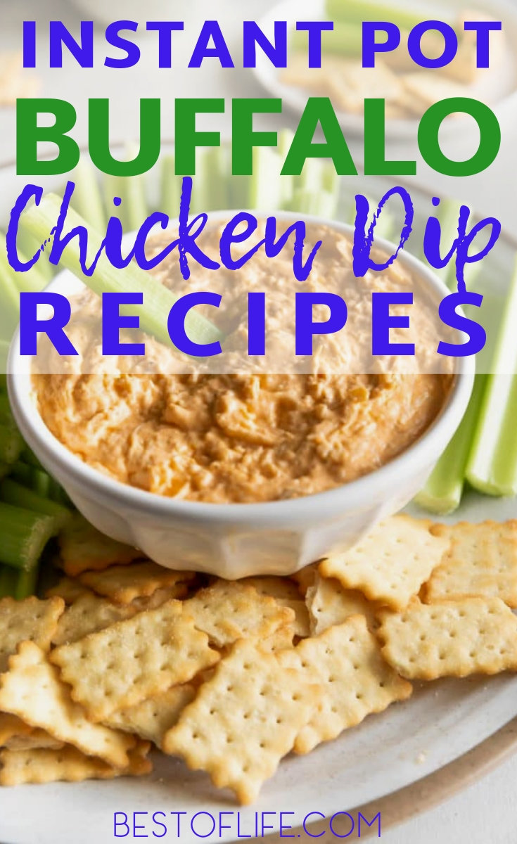 Use the best buffalo chicken dip instant pot recipes to turn your game day into a game day celebration to remember. Super Bowl Recipes   Super Bowl Instant Pot Recipes   Game Day Recipes   Buffalo Chicken Recipes   Buffalo Sauce Recipes #gameday #recipes