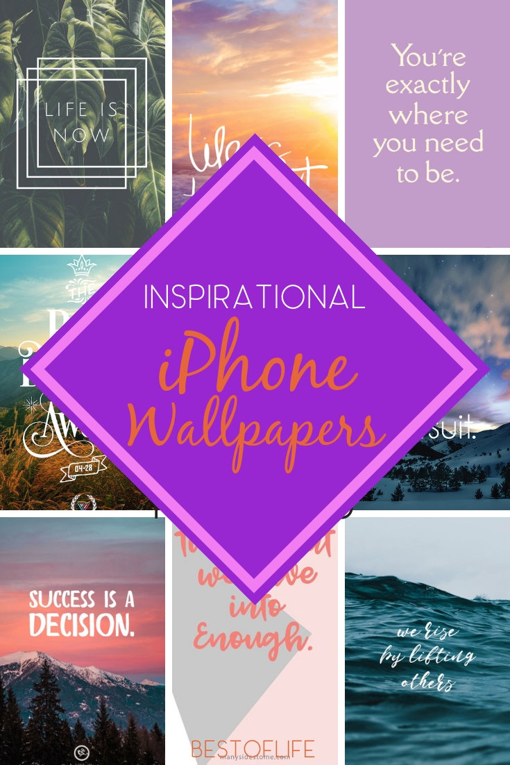 iPhone wallpapers to inspire will provide you with that boost in your day that you need each time you turn on your phone! Best Phone Wallpapers | Free Phone Wallpapers | Quotes for Phones | iPhone Ideas | Inspirational Quotes #iphone via @thebestoflife