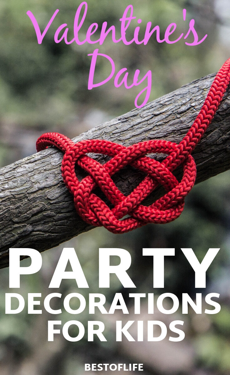 Get crafty and DIY yourself some amazing Valentine's Day party decorations for kids so they can celebrate the holiday in their own ways. DIY Crafts | DIY Valentine's Day Crafts | Valentine's Day Ideas | Valentine's Day for Kids | Things to do on Valentine's Day #valentinesday #kids