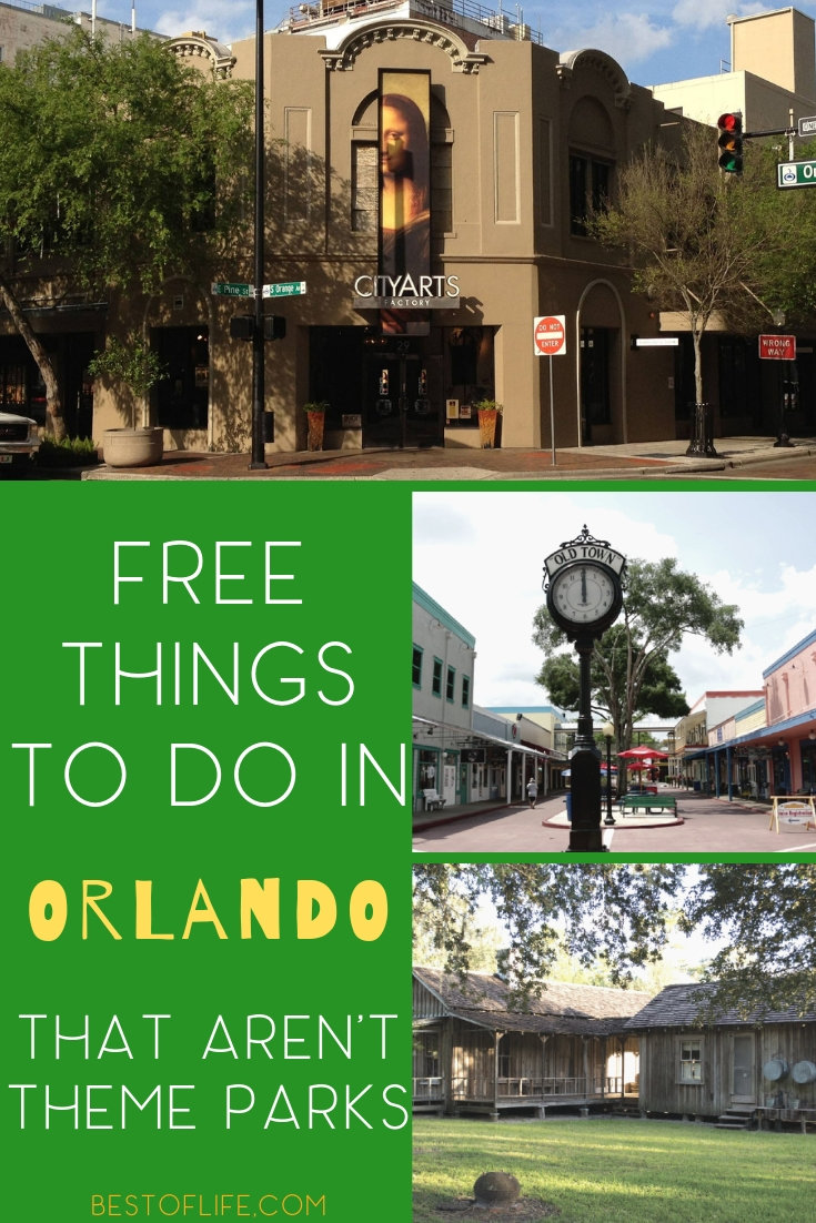 Have fun in Orlando without stepping foot in a theme park with these fun and free things to do in Orlando, Florida for travelers of all ages. Things to do in Orlando | Travel Tips | Orlando Travel Ideas | Things to do in Florida | Florida Travel Ideas #travel #orlando via @thebestoflife