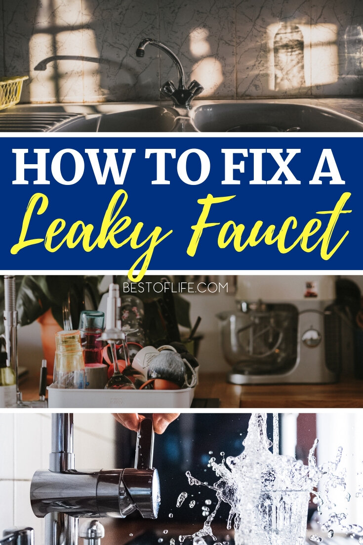 Figure out how to fix a leaky faucet so you can save yourself some time, some money, and get to know your home more intimately. How to Fix a Sink | Home Ideas | Home Talk | Home Improvement | DIY Home Ideas #DIY via @thebestoflife