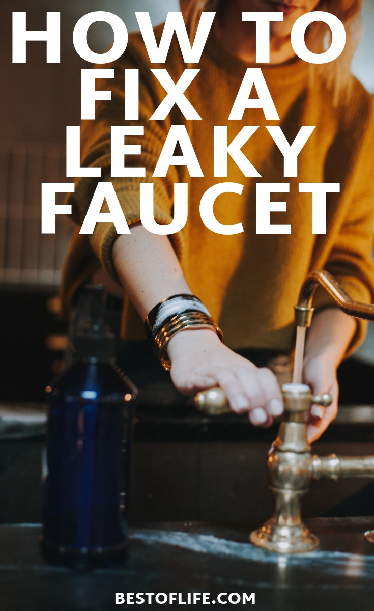 Figure out how to fix a leaky faucet so you can save yourself some time, some money, and get to know your home more intimately. How to Fix a Sink | Home Ideas | Home Talk | Home Improvement | DIY Home Ideas #DIY