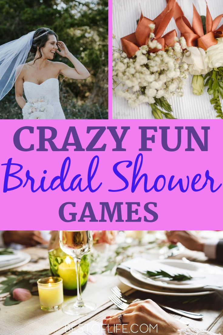 Throw a fun bridal shower everyone will remember with these hilarious and entertaining bridal shower games for large groups. Party Game Ideas | Bridal Shower Ideas | Bridal Party Ideas | Games for Bridal Showers | Party Planning #party #tips