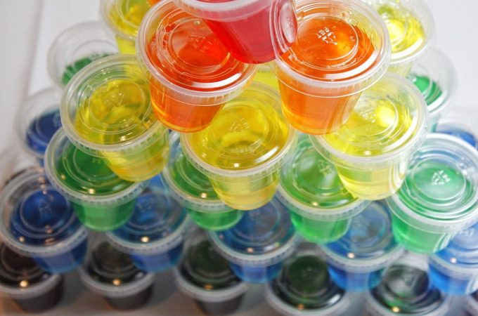 Once you know how to make jello shots with vodka, you can use that knowledge to add some fun to any party you throw throughout the year. Change the colors for the type of party and let the fun begin! What are Jello Shots   Jello Shots Recipe   Jello Shots Ideas   Party Recipes   Recipes for Adults