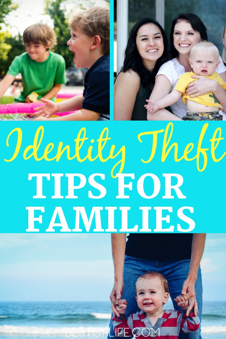 Identity theft is a growing problem and children need to protect themselves, too. Knowing how to protect your identity is easy with these practical tips. How to Deal with Identity Theft | Family Identity Theft Tips | Ways to Protect Your Identity #lifestyle #tips