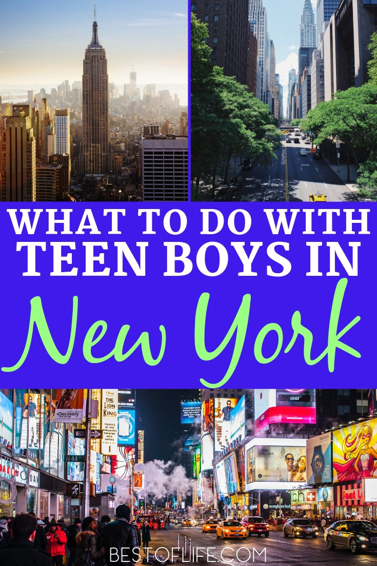 If you're asking what to do with a teenage boy in New York, the answer is simple. Let him explore his interests in fun and exciting ways with the energy of New York City surrounding him. New York Travel Ideas | Things to do with Teens | Things to do in New York | New York Activities | New York Travel Tips #newyork #travel