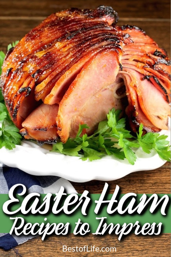 The best baked Easter ham recipes help you breathe new life into your Easter traditions as you impress everyone with a beautiful Easter dinner. Baked Ham with Pineapple | Oven Baked Ham Recipes | Easter Dinner Main Dishes | Easter Dinner Ideas | Recipes for Easter | Spring Recipes | Dinner Recipes for Spring #easterdinner #dinnerrecipes via @thebestoflife