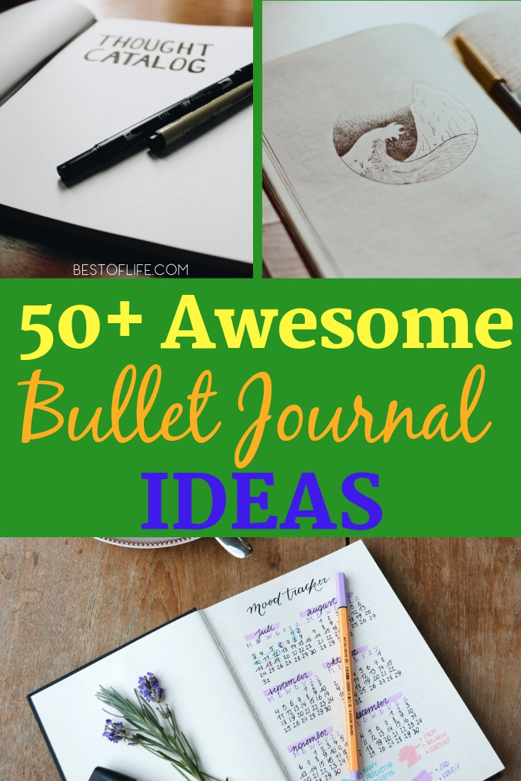The very best bullet journal ideas on Pinterest could help you organize your life in ways you didn't think were possible. Bullet Journal Tips | Bullet Journal Page Ideas | Bullet Journal Header Ideas | Bullet Journal Spread Ideas | Organization Ideas #bulletjournal #tips
