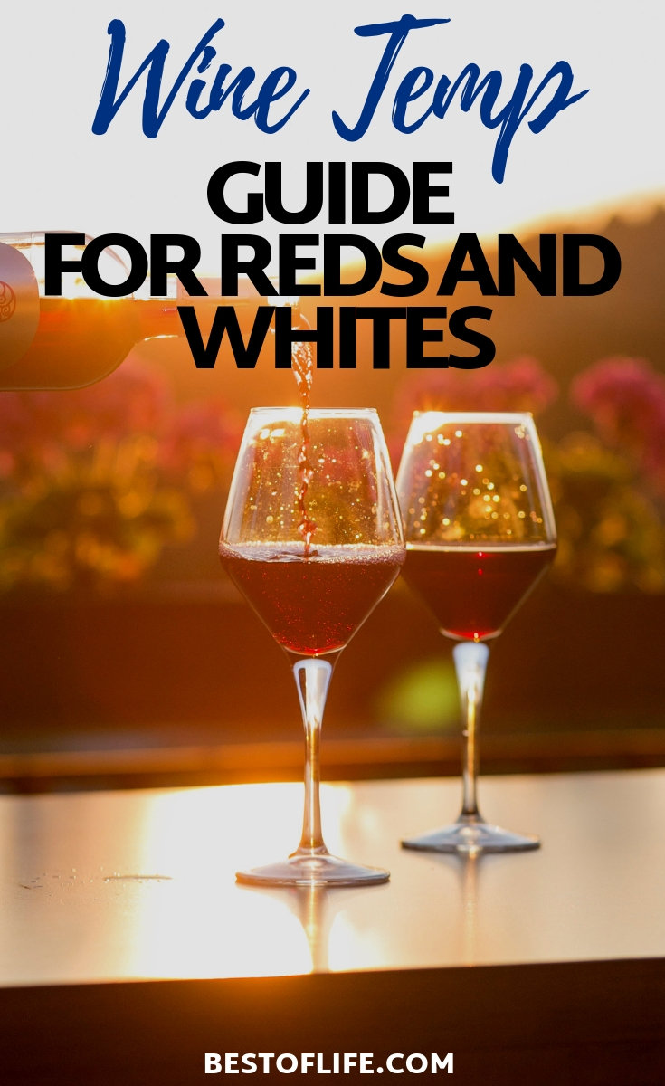 Make sure you get the best flavors intended with every pour by using a wine temperature guide for both red and white wines. Tips for White Wine | Tips for Red Wine | Temperature Tips for Wine | How to Serve Wine | Tips for Merlot | Tips for Chardonnay #wine #tips