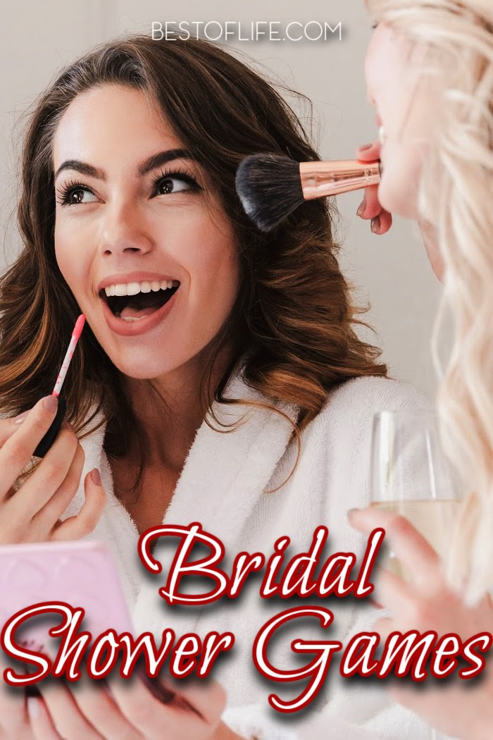 While the bridal shower celebrates you, make your bridal show fun for everyone with entertaining bridal shower games for large groups. Funny Bridal Shower Games | Unique Games for Bridal Showers | Bridal Shower Tips | Tips for Hosting a Bridal Shower | Free Printable Bridal Shower Games #bridalshower #games via @thebestoflife