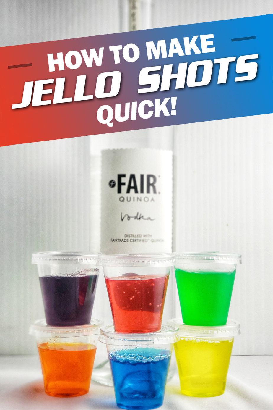 There are many flavors to choose from, and when you learn how to make Jello shots quick you can get the party started even faster! Jello Shot Recipes | Jello Shots Ideas | Party Recipes | Happy Hour Recipes | Party Planning | Holiday Parties #jelloshots