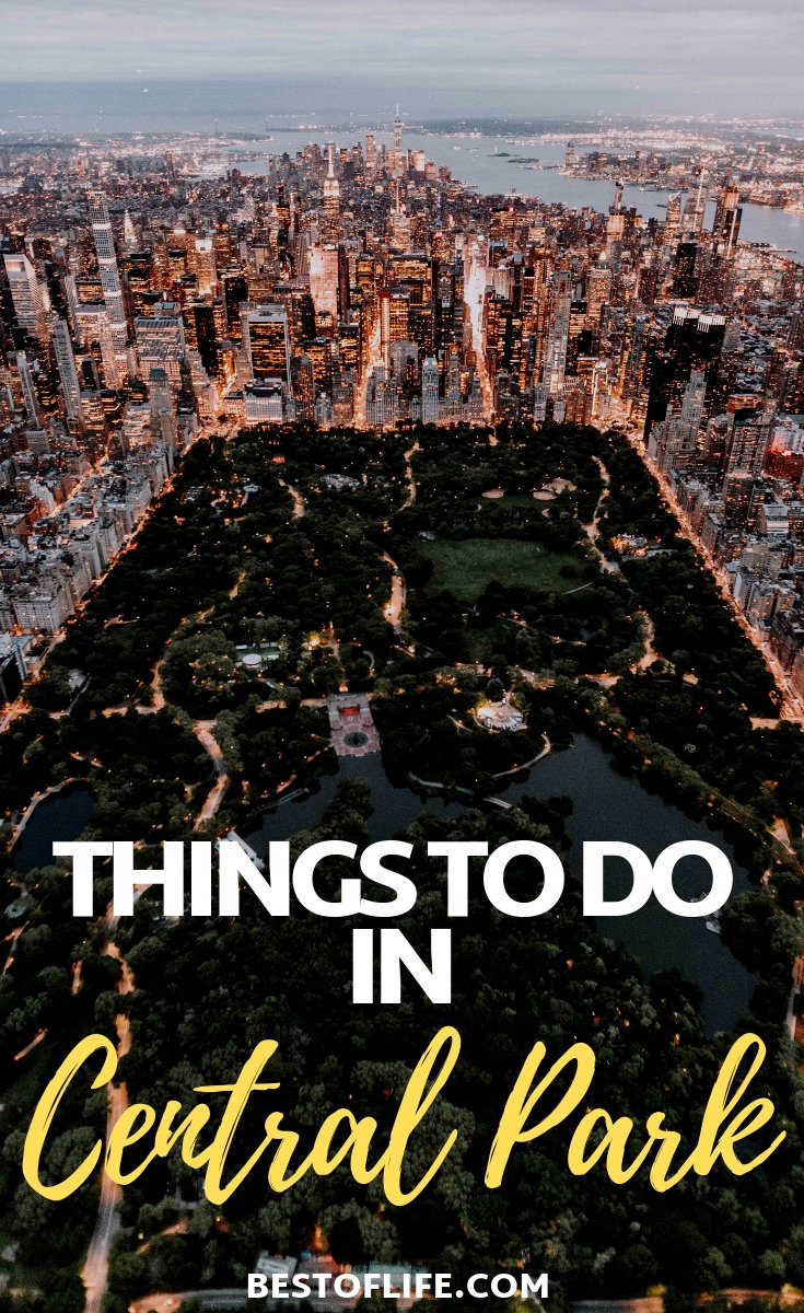 Make the most of your trip to New York City by filling your day with the best things to do in Central Park. Central Park Ideas | Central Park Events | New York City Travel Tips | Things to do in New York City | Central Park Travel #centralpark #travel