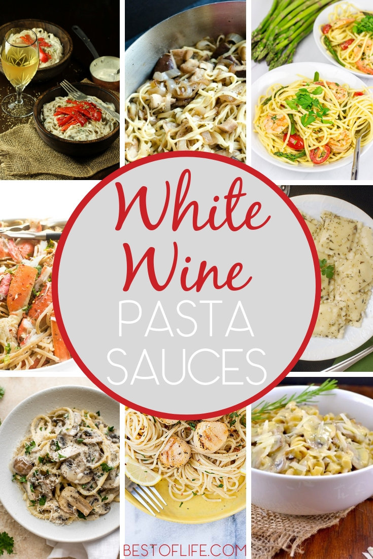 Discover the reason why we cook with wine by using white wine pasta sauce recipes for your next meal at home or with friends. Pasta Recipes | White Wine Recipes | Recipes with White Wine | Pasta Recipes with Wine | White Wine Cooking Ideas | Pasta Sauce Ideas #wine #recipes
