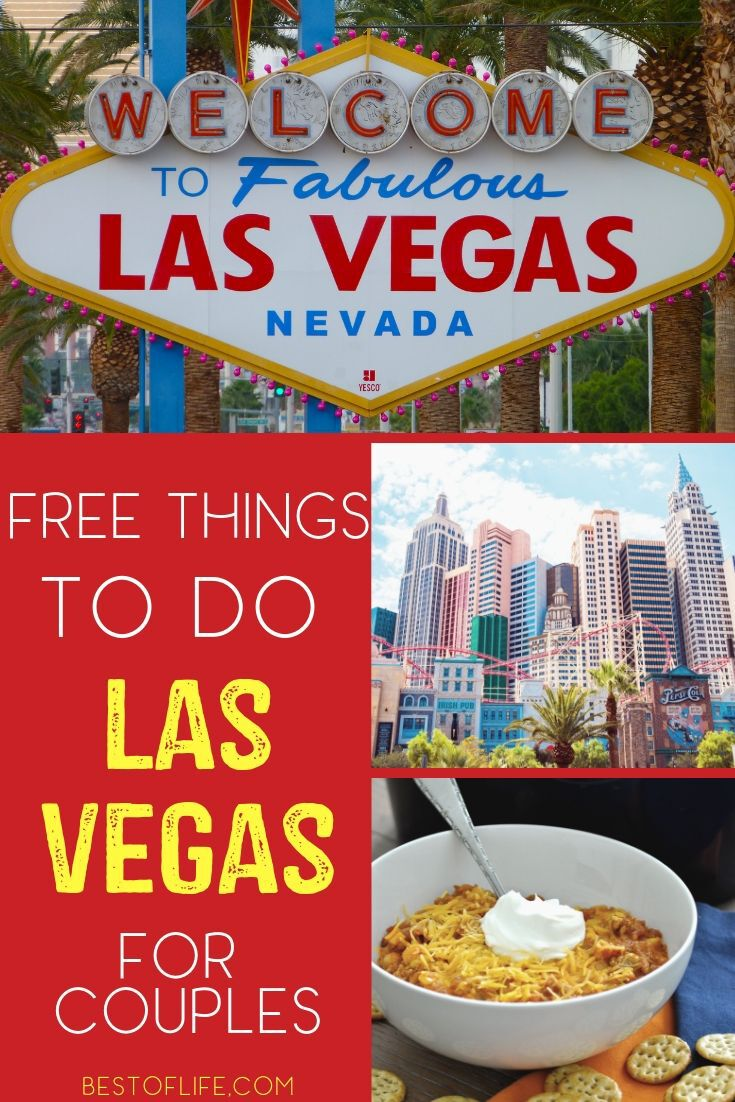 There are many different free things to do in Las Vegas for couples that are amazing, you just need to decide which you will do. There are many different free things to do in Las Vegas for couples that will help you make the most of your trip to Sin City. Vegas Travel Tips | Things to do in Vegas | Vegas Activities for Couples | Free Activities in Vegas #vegas #travel via @thebestoflife