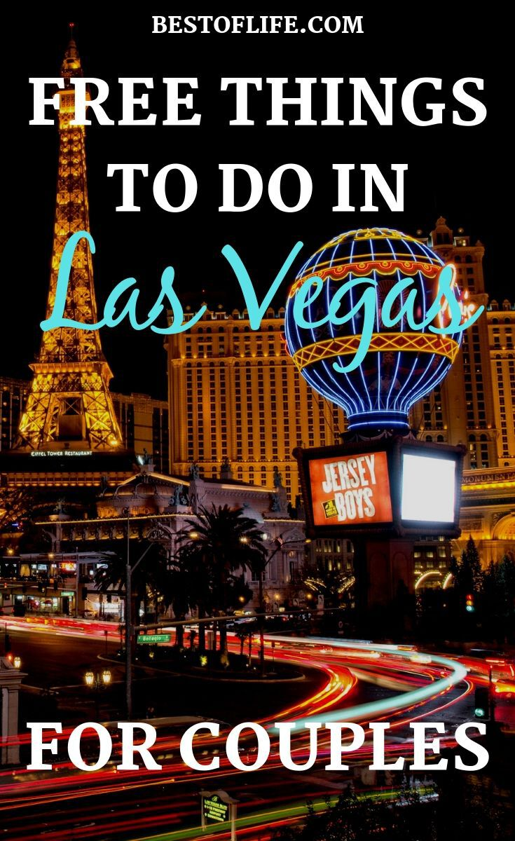 There are many different free things to do in Las Vegas for couples that are amazing, you just need to decide which you will do. There are many different free things to do in Las Vegas for couples that will help you make the most of your trip to Sin City. Vegas Travel Tips | Things to do in Vegas | Vegas Activities for Couples | Free Activities in Vegas #vegas #travel