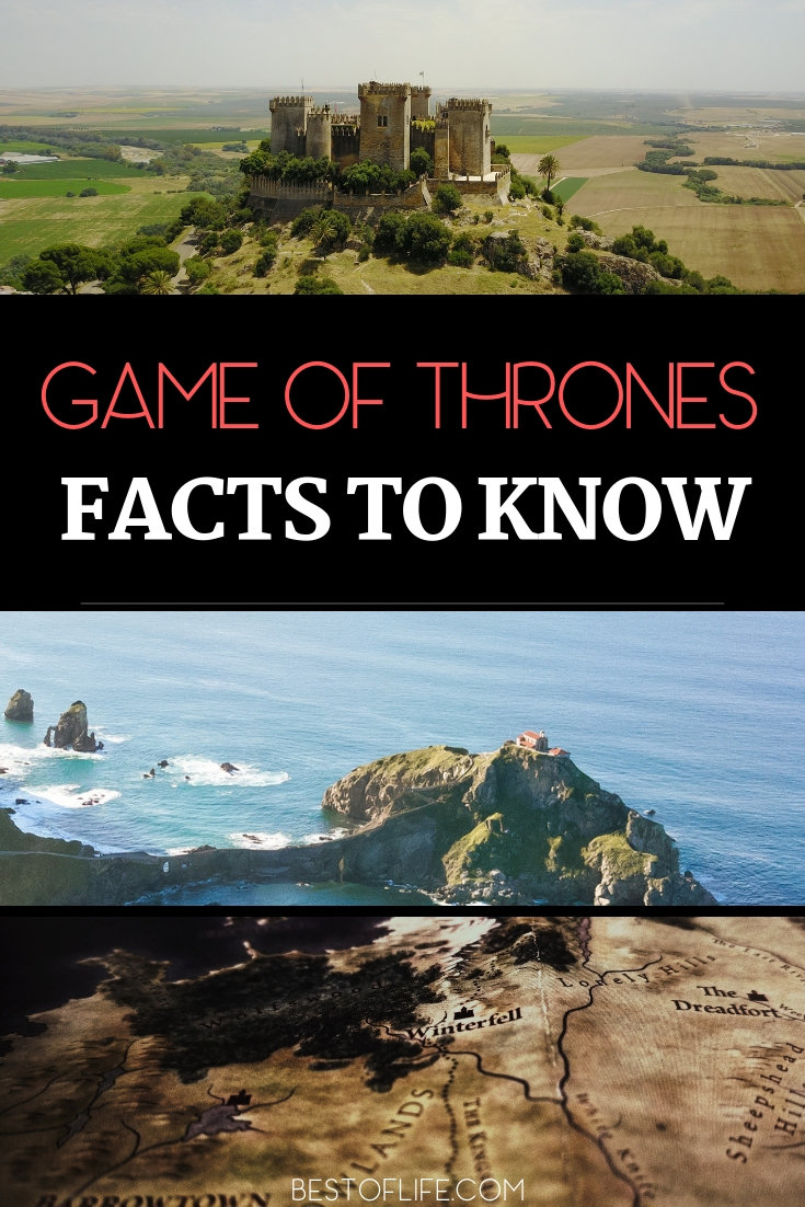 While you bite your nails waiting to see who will win the game of thrones learn some awesome facts about Game of Thrones. Game of Thrones Facts | Game of Thrones Behind the Scenes | Facts About Game of Thrones #GoT #tvshows