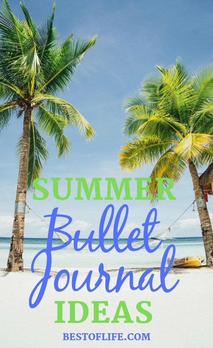 Use the best summer bullet journal ideas to help keep your life in order so you can enjoy the warm weather and your travels. Summer Fun Ideas | Bullet Journal Ideas | Bullet Journal Spreads for Summer | Summer Bullet Journal Ideas | Vacation Bullet Journal Ideas #bulletjournal #summer
