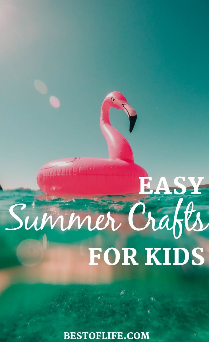 Use amazingly easy summer crafts for kids this year to fill their time with fun and creativity during those long summer days!. Fun Summer Crafts | Summer Activities for Kids | Things to do During Summer | DIY Craft Ideas | DIY Ideas for Kids #diy #summer