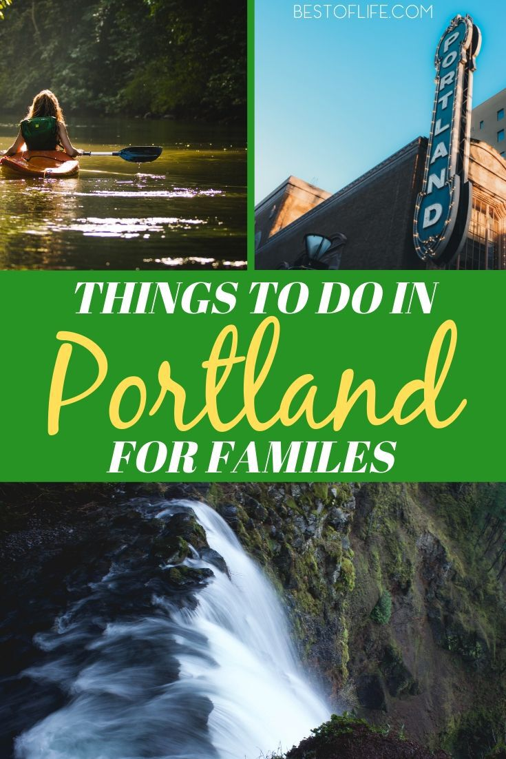 Head out to Oregon's biggest city and enjoy some weird and fun things to do in Portland for families with children of all ages. Travel Ideas | Travel Tips | Portland Travel Tips | Things to do in Portland Oregon | Oregon Travel Tips | Family Travel Destinations #travel #portland via @thebestoflife