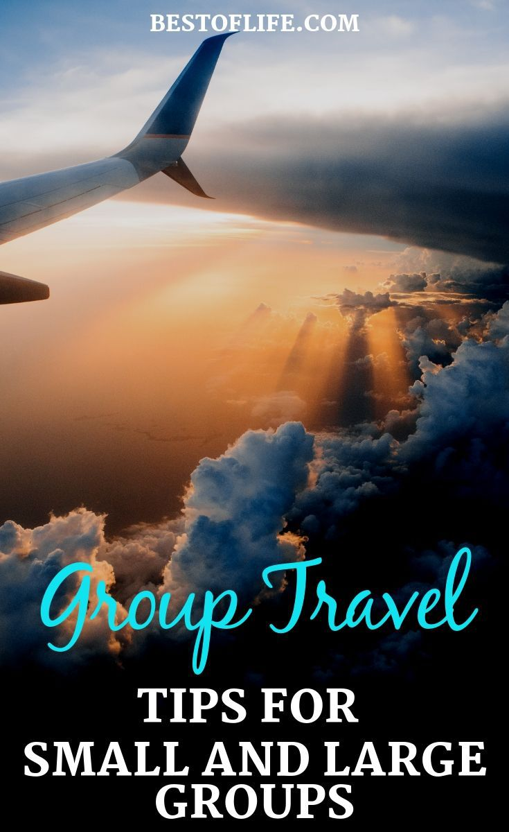 Before you head out for a group trip you may want to utilize some of the best group travel tips for both small and large groups. Family Travel Tip | Large Group Travel Tips | Small Group Travel Tips | Travel Ideas | Tips for Travelling #travel #tips
