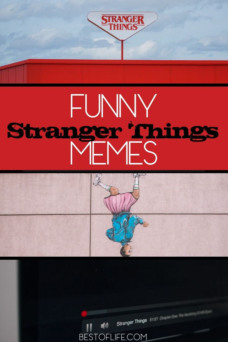 Some shows have a darker tone to them but our love for the characters adds levity along with danger and that is why funny Stranger Things memes are a thing. Clean Stranger Things Memes | Stranger Things Season 2 Memes | Stranger Things Season 3 Memes | Stranger Things Season 1 Memes | Memes From Stranger Things #strangerthings #memes