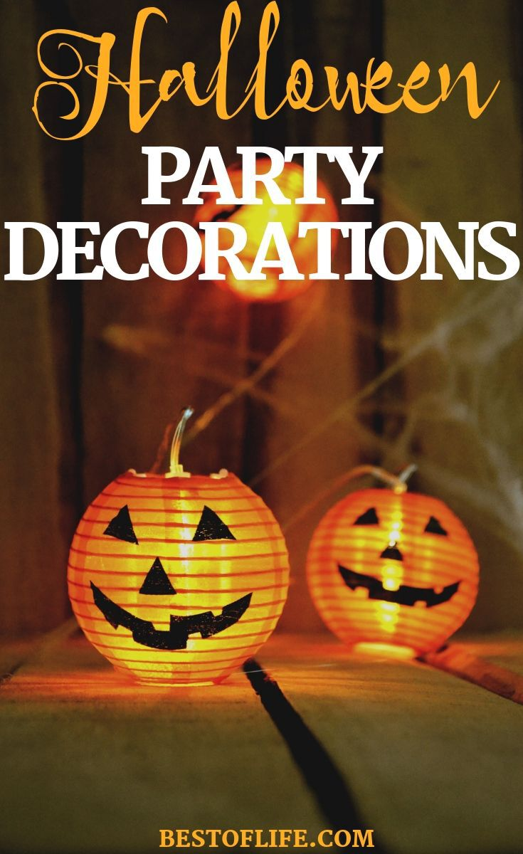 Having the best Halloween decorations is a must for throwing a spooky and fun Halloween party that guests will enjoy! Halloween Décor Ideas | Ideas for Halloween | Halloween Party Decorations | Halloween Party Ideas | Tips for Halloween | Halloween Party Ideas #halloween #party