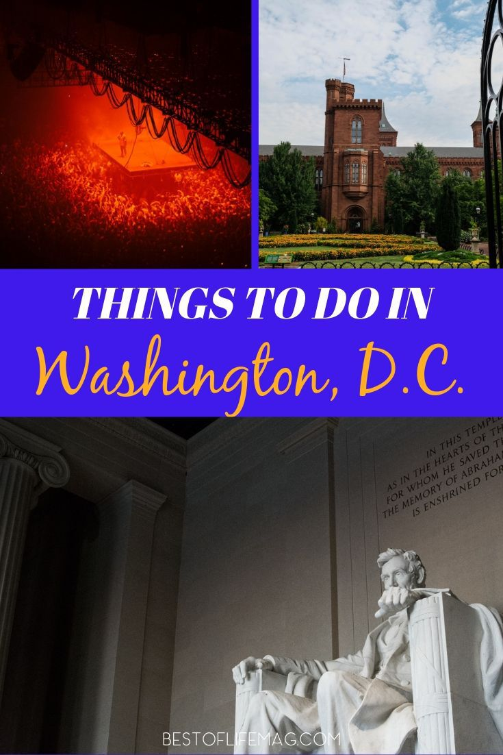 You can take a trip and discover so much by just attending as many of the best things to do in Washington DC as you can find. Washington DC Travel Tips | Tips for Washington DC | Attractions in Washington DC | Activities in Washington DC | Family Travel Tips | Travel Tips for Washington DC #washingtondc #travel via @thebestoflife