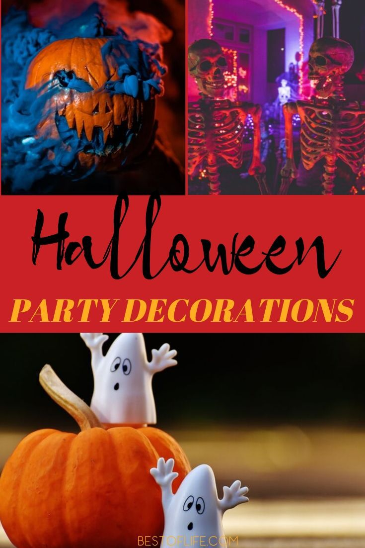 Having the best Halloween decorations is a must for throwing a spooky and fun Halloween party that guests will enjoy! Halloween Décor Ideas | Ideas for Halloween | Halloween Party Decorations | Halloween Party Ideas | Tips for Halloween | Halloween Party Ideas #halloween #party via @thebestoflife