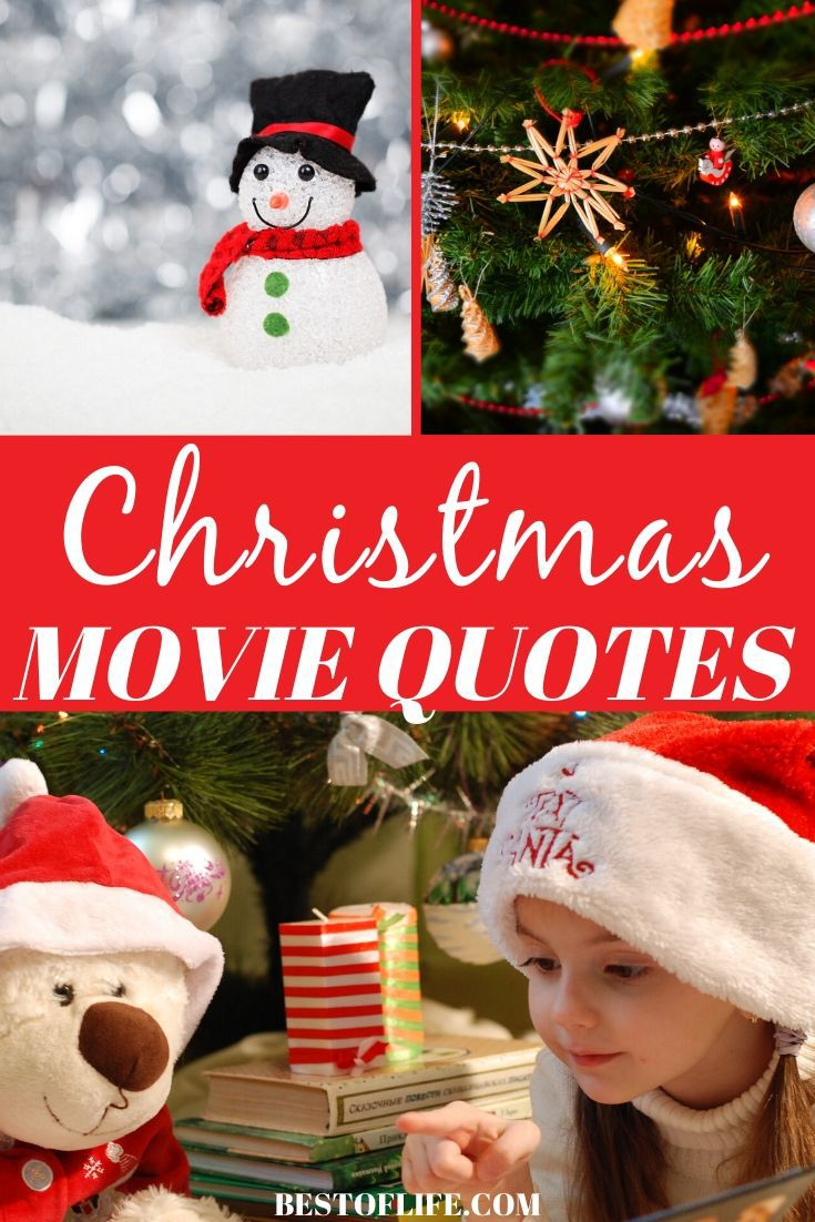 Christmas quotes from movies can help get you in the spirit of the holidays and may just inspire you to spread more holiday cheer! Holiday Quotes | Quotes for Christmas Time | Cheerful Holiday Quotes | Famous Quotes from Holiday Movies | Christmas Card Quotes #christmas #quotes via @thebestoflife