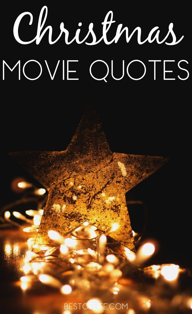 Christmas quotes from movies can help get you in the spirit of the holidays and may just inspire you to spread more holiday cheer! Holiday Quotes | Quotes for Christmas Time | Cheerful Holiday Quotes | Famous Quotes from Holiday Movies | Christmas Card Quotes #christmas #quotes