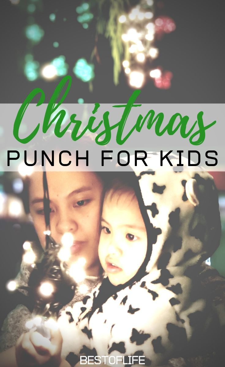 Make these delicious Christmas morning punch recipes for kids and fill your home with holiday memories your family and friends will remember forever. Holiday Recipes for Kids | Holiday Party Recipes | Christmas Punch for a Crowd | Non-Alcoholic Christmas Punch | Christmas Punch Pitcher Recipes #christmas #recipes