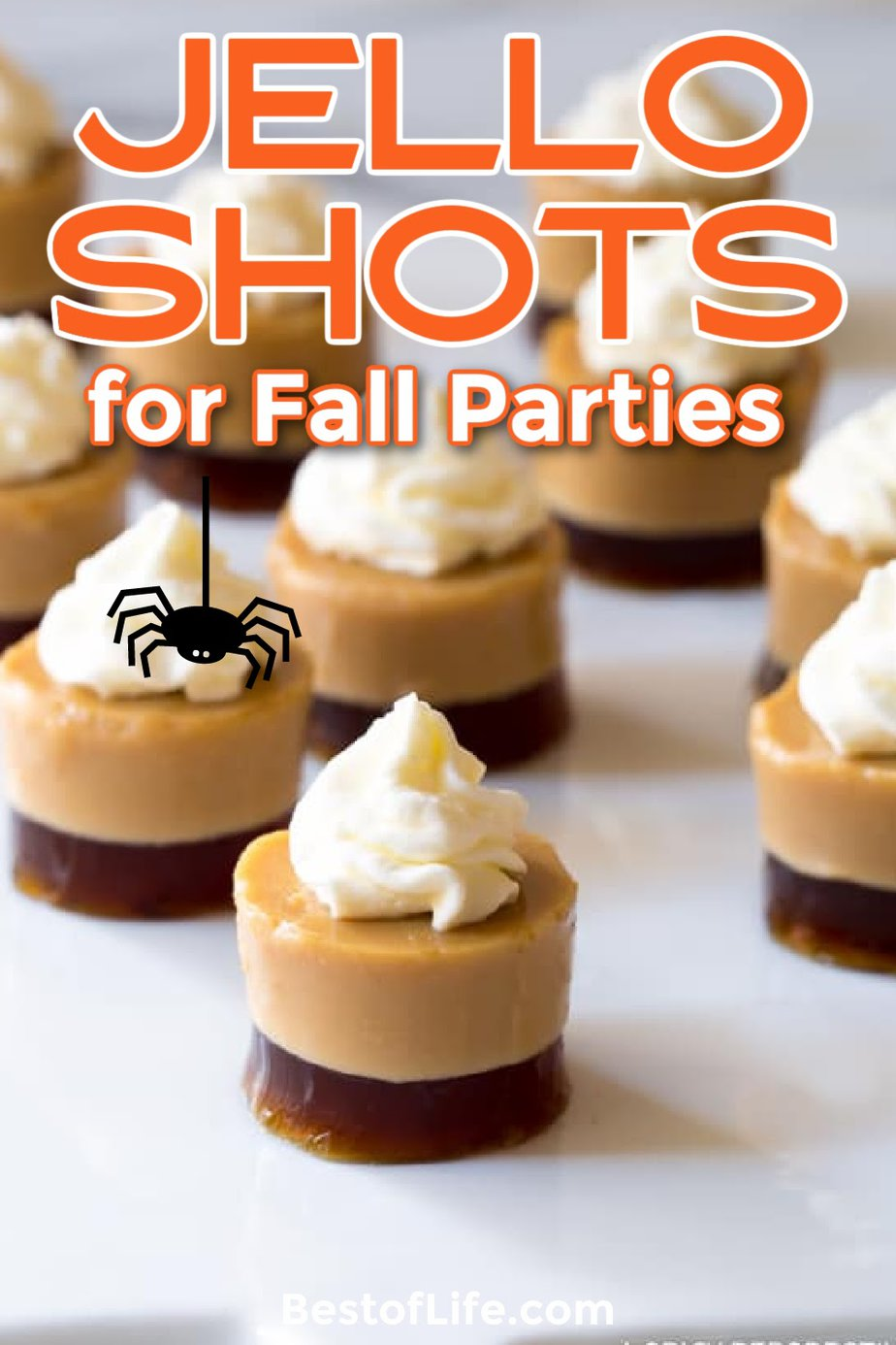 Spice up those fall and winter parties with colorful fall Jello shot recipes! Enjoy these fall Jello shots with family and friends! Fall Cocktail Recipes   Party Planning   Fall Party Recipes   Halloween Recipes   Thanksgiving Recipes   Halloween Cocktail Recipes   Thanksgiving Cocktail Recipes #fallrecipes #jelloshots via @thebestoflife