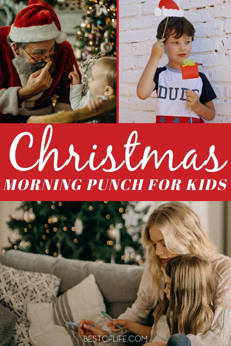 Make these delicious Christmas morning punch recipes for kids and fill your home with holiday memories your family and friends will remember forever. Holiday Recipes for Kids | Holiday Party Recipes | Christmas Punch for a Crowd | Non-Alcoholic Christmas Punch | Christmas Punch Pitcher Recipes #christmas #recipes via @thebestoflife