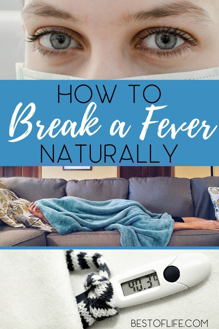 When you know how to break a fever naturally, you can help bring your fever down faster and possibly avoid taking medicine altogether. Home Remedies | Natural Health and Healing | Tips for Healthy Living | Wellness Tips #wellness #naturalliving via @thebestoflife
