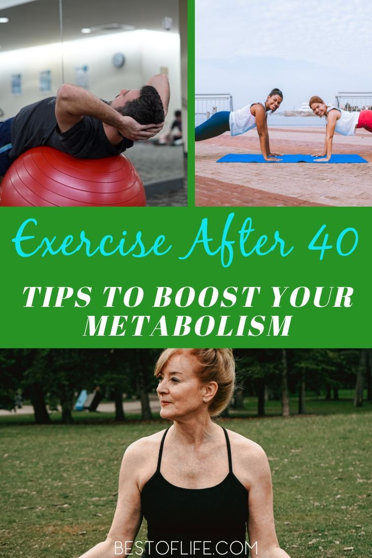 Age shouldn't stop us from trying to stay healthy; we can exercise after 40 and still get results that will make you happy. How to Boost Metabolism | Metabolism Tips for Over 40 | Workouts for Metabolism | Health Tips for Over 40 | Weight Loss Tips for Over 40 #health #fitness via @thebestoflife