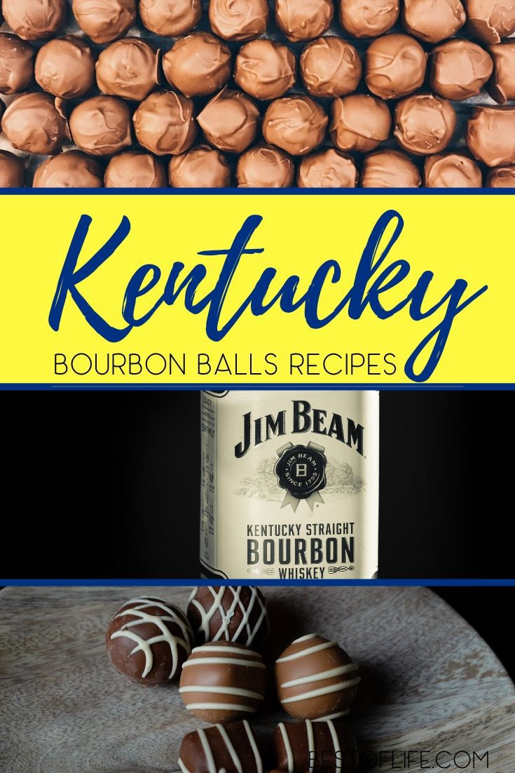 The history behind Kentucky bourbon balls recipes is interesting and will make enjoying these delicious bourbon treats even better. Bourbon Recipes | Recipes with Bourbon | Alcoholic Snack Recipes | Snack Recipes with Alcohol | Party Recipes | Party Food Ideas #bourbonballs #recipes via @thebestoflife