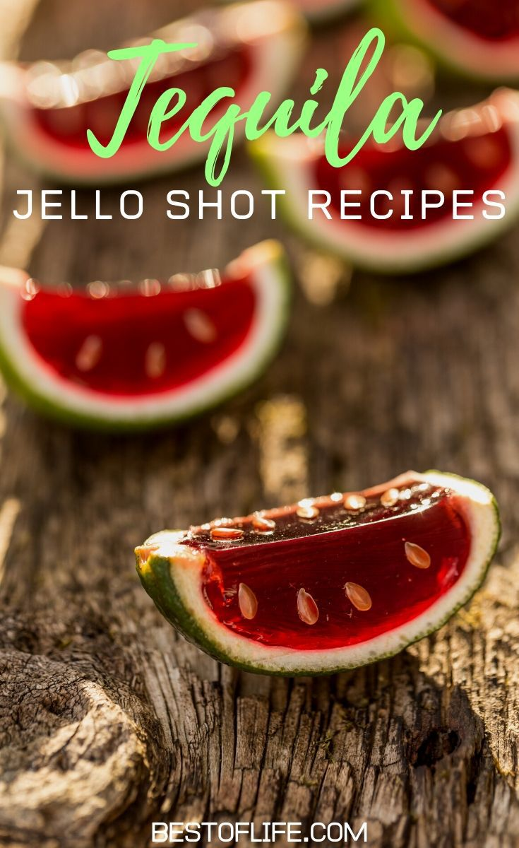 Use tequila jello shot recipes to help you liven up your party with a number of jello shot flavors available for everyone to enjoy. Strawberry Tequila Jello Shots | Tequila Sunrise Jello Shots | Cocktail Recipes | Party Recipes | Party Food Ideas | Jello Shot Recipes for Parties #cocktails #recipes