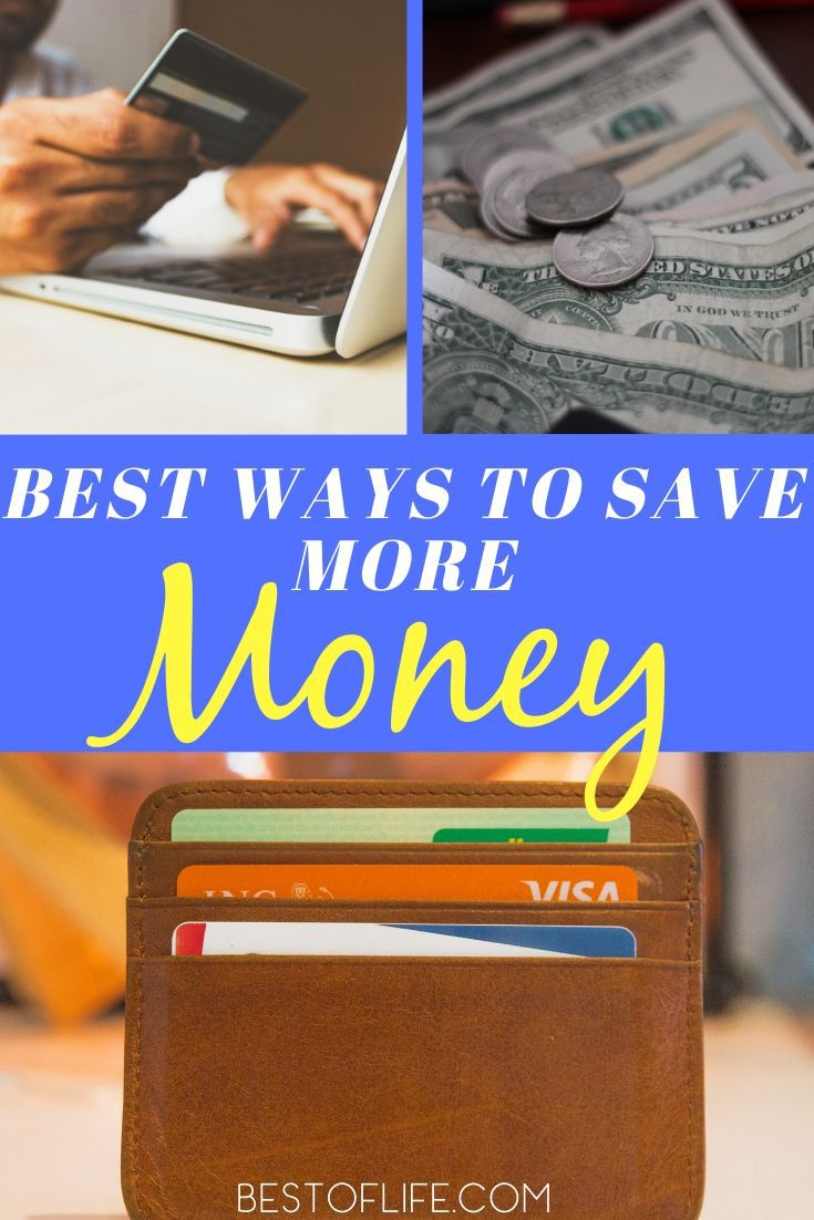 The best ways to save more money are also easy and can be done by almost anyone with a steady income. Time to save some money! Monthly Budget Tips | Yearly Budget Tips | Money Saving Methods | Money Saving for Teens | Money Saving for Adults #lifestyle #savingtips via @thebestoflife