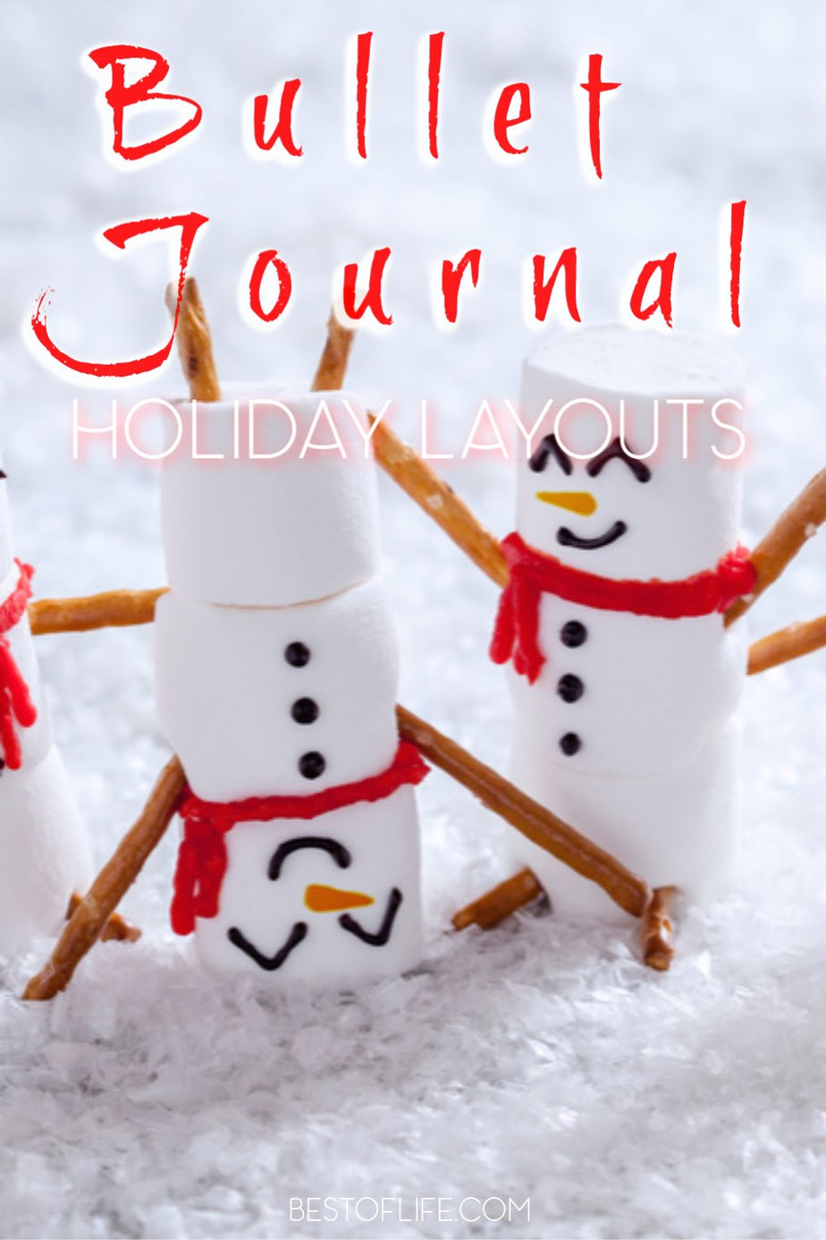 Let your bullet journal holiday planning layouts help you destress during the holidays and utilize the best tips to survive the holiday season. Tips for the Holiday Season | Holiday Schedule Ideas | Organization Tips | Bullet Journal Ideas | BuJo Layouts | Bullet Journal Layouts | Bullet Journal Tips #bulletjournal #holidays via @thebestoflife