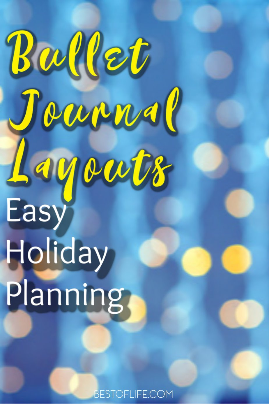 Let your bullet journal holiday planning layouts help you destress during the holidays and utilize the best tips to survive the holiday season. Tips for the Holiday Season | Holiday Schedule Ideas | Organization Tips | Bullet Journal Ideas | BuJo Layouts | Bullet Journal Layouts | Bullet Journal Tips #bulletjournal #holidays