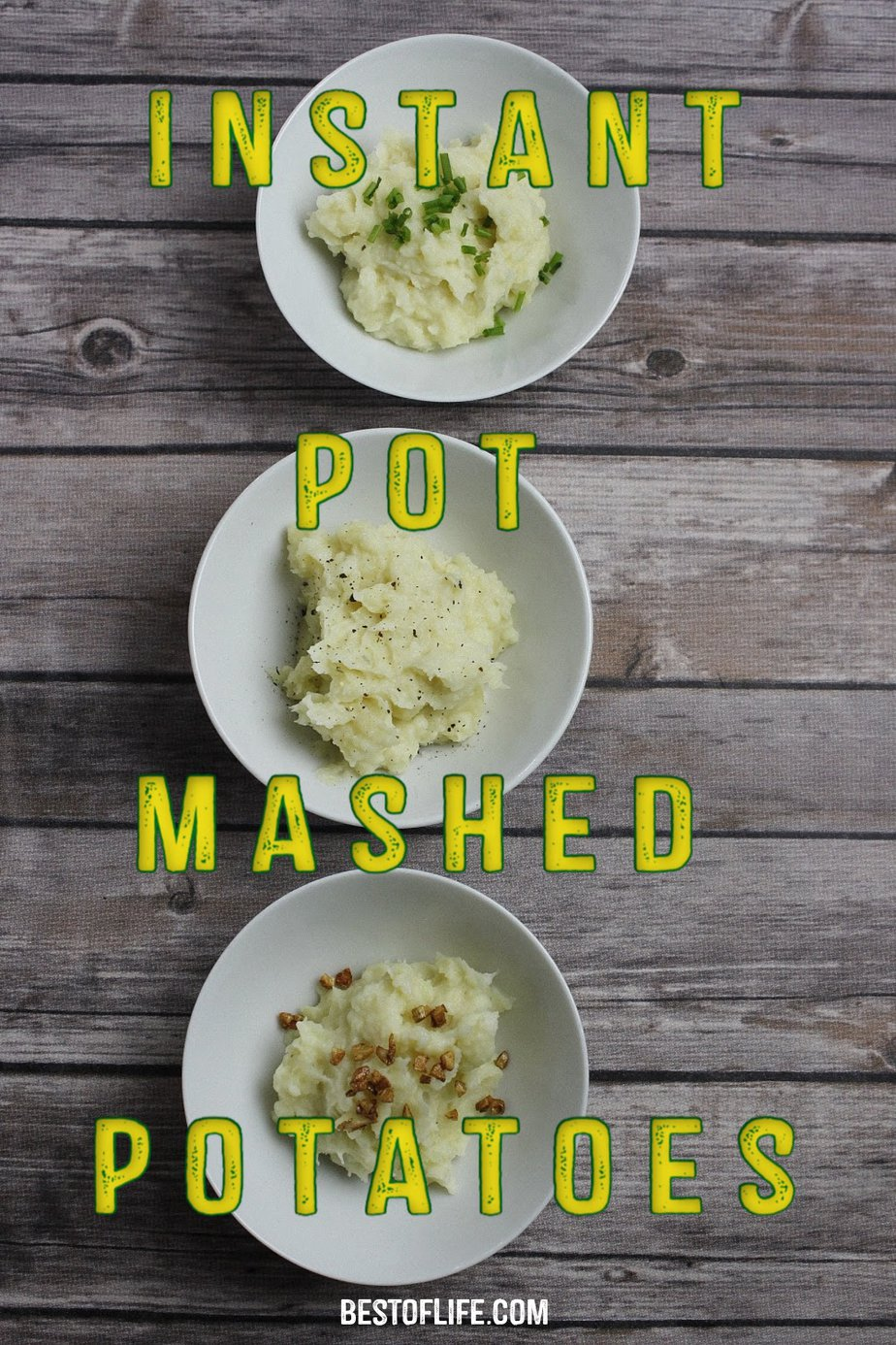 Our easy instant pot mashed potatoes recipe will quickly become a staple recipe in your weekly meal planning! The potatoes come out perfect every time and clean up is a breeze! Instant Pot Recipes | Side Dish Recipes | Instant Pot Side Dish Recipes | Instant Pot Potatoes Recipe | Mashed Potatoes Recipe #instantpot #instantpotrecipe