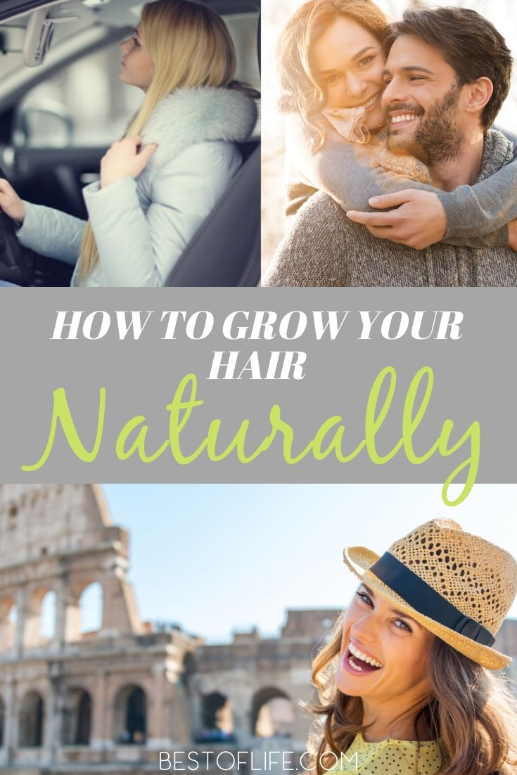 Learning how to grow your hair naturally will also help you grow healthy hair that won't break or fall out as easily. Beauty Tips | Hair Care Tips at Home | Natural Hair Care Tips | DIY Beauty | Natural Beauty Tips #HealthyLiving #HairCare