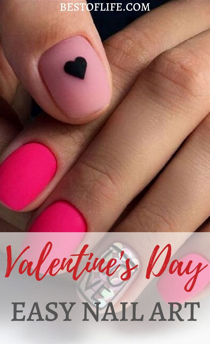 There are a number of Valentine's Day nail ideas that you can implement into your perfect Valentine's Day plans that he will be sure to notice! Valentine's Day Acrylic | Valentine's Day Nails Gel | Valentine's Day Acrylic Coffin | Valentine's Day Nails Simple | Nail Art Designs for Valentine's Day #nailart #valentinesday