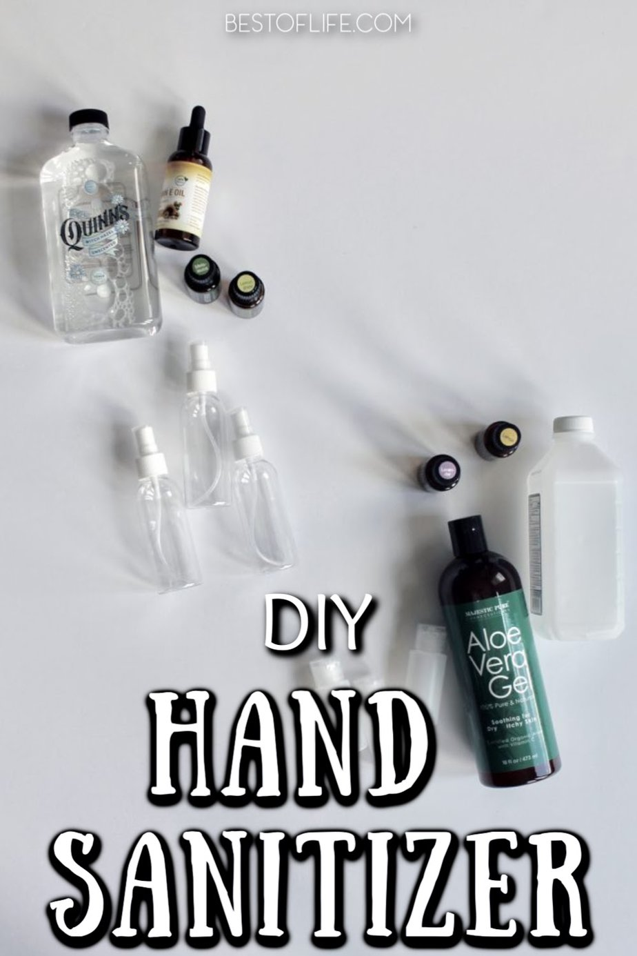 DIY hand sanitizer is not only easy to make, but it could also be the safest way to clean your hands and protect against germs. Hand Sanitizer Recipe with Alcohol | Hand Sanitizer Recipe with Essential Oils | Hand Sanitizer Recipe with Vodka | Hand Sanitizer Recipe Without Aloe | Healthy Living Tips | Tips for Health #health #DIY