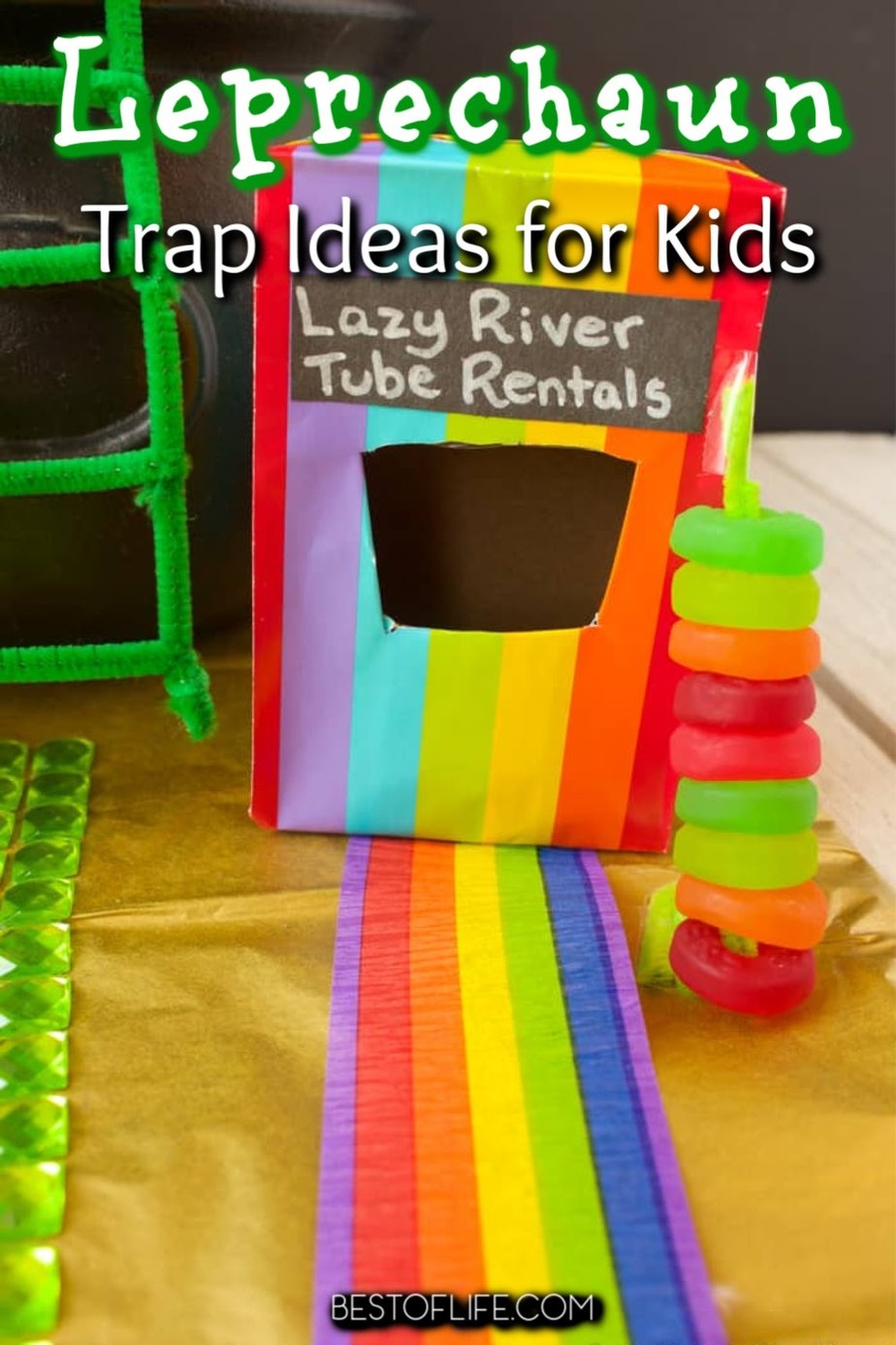 You can have a lot of St. Patrick's Day fun with your own DIY leprechaun trap ideas for kids and find new ways to celebrate St. Patrick's Day. St Patrick's Day Idea | St Patrick's Day Activities | DIY St Patrick's Day Ideas for Kids | Kids Activities | Leprechaun Ideas Trap #stpatricksday #DIY