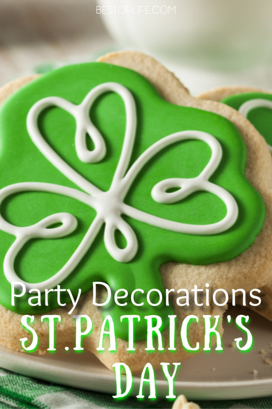 Host your very own Irish-themed party with fun and colorful St Patricks Day decorations that add some festive green to your St Patrick's Day party. St Patrick's Day Décor | St Patrick's Day Party Ideas | Party Décor | Outdoor Party Decorations | Party Planning Tips #stpatricksday #party via @thebestoflife