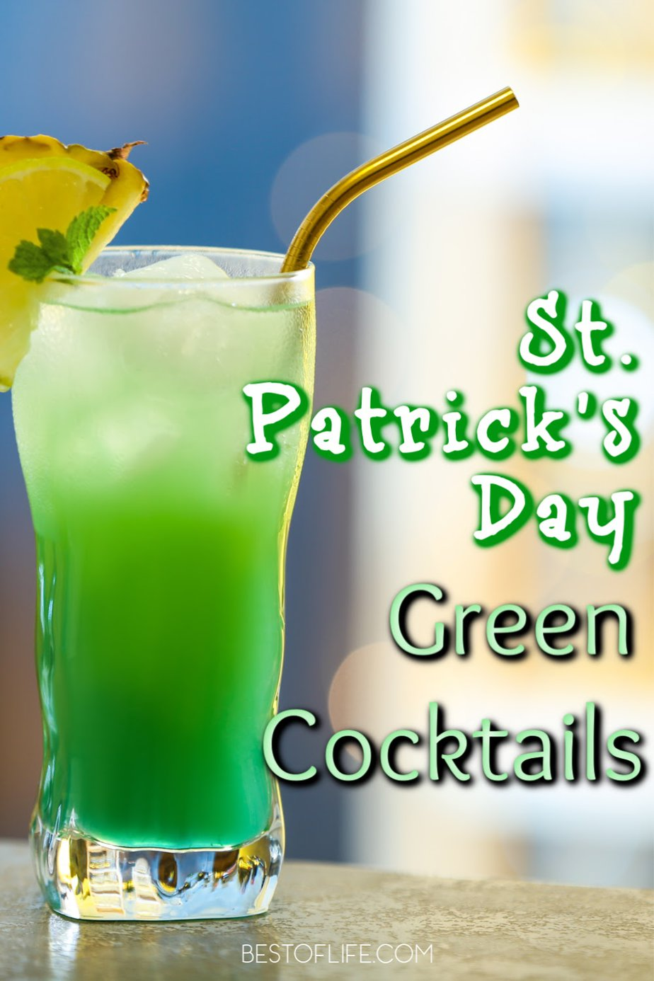 Enjoy these festive green cocktails for St Patricks Day as you celebrate the Irish traditions of the holiday with friends and family. St Patricks Day Cocktails | Irish Cocktails | Green Drinks | St Patricks Day Recipes | Party Food | Party Drink Recipes #stpatricksday #cocktails via @thebestoflife