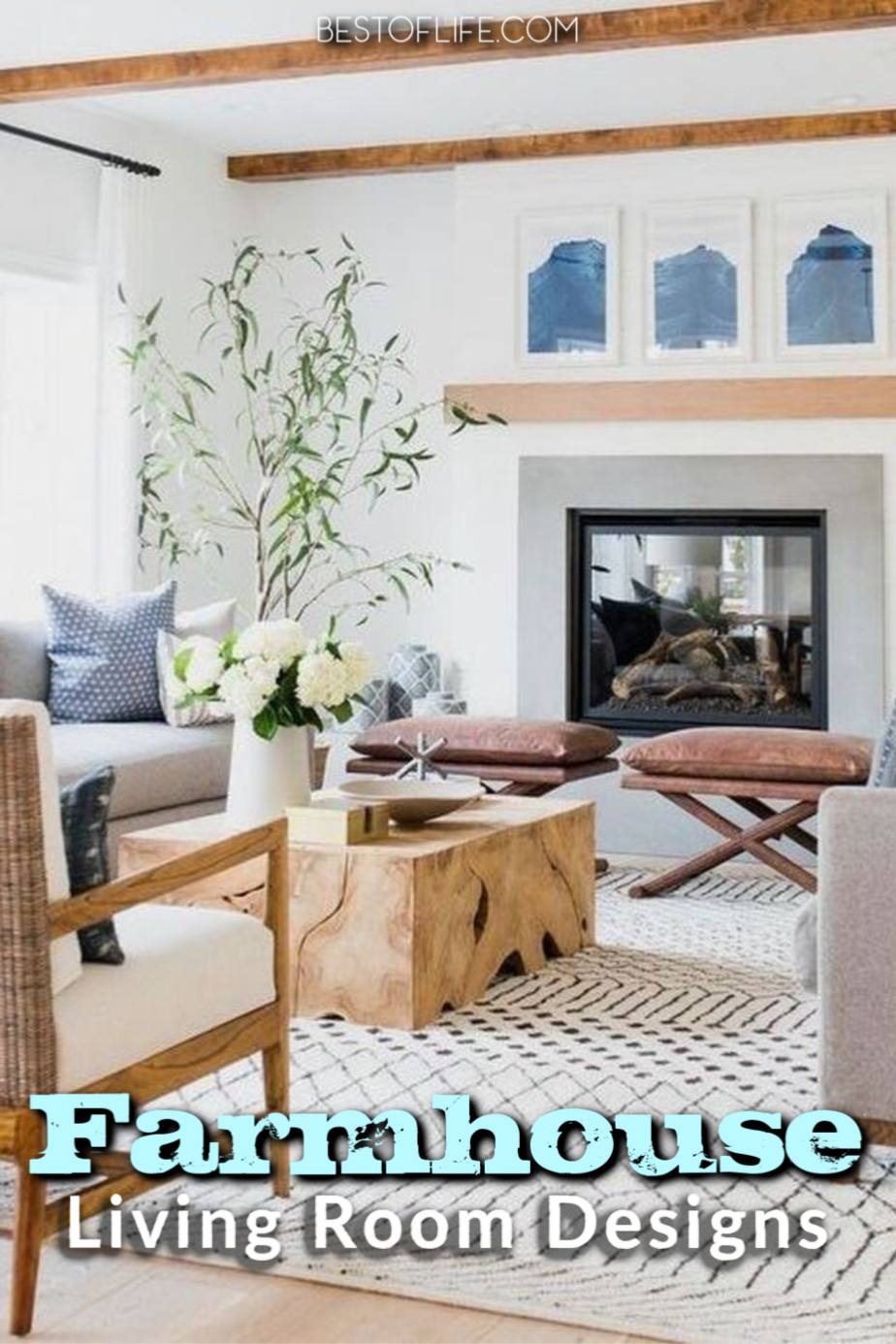 Faux farmhouse living room designs are not only chic living room designs, but they're also easy DIY home designs for a modern look. Home Décor Ideas   DIY Home Designs   Farmhouse Décor Ideas   Farmhouse Designs   Farmhouse Home Décor   DIY Home Décor #decor #home