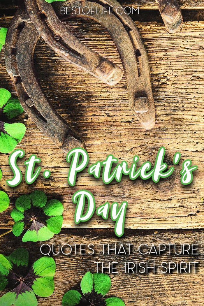 Quotes day st and images patricks 30 Funny