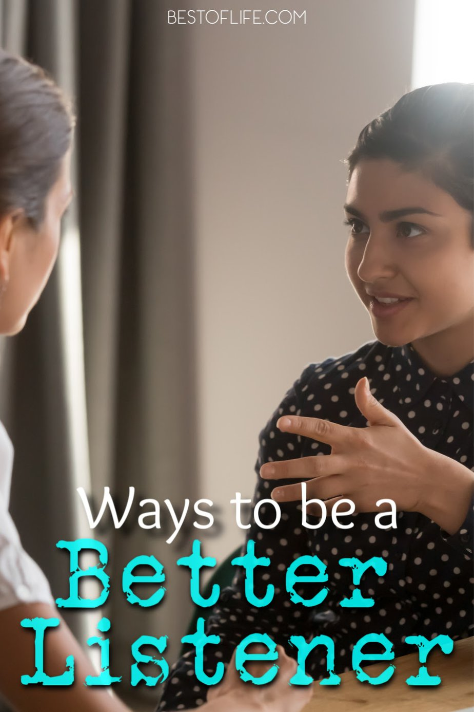 The best ways to be a better listener could help in many different aspects of life from romance to professional and everything in between. Lifehacks | Tips for Listening | Ideas for Listening | Ways to Pay More Attention #life #hacks via @thebestoflife